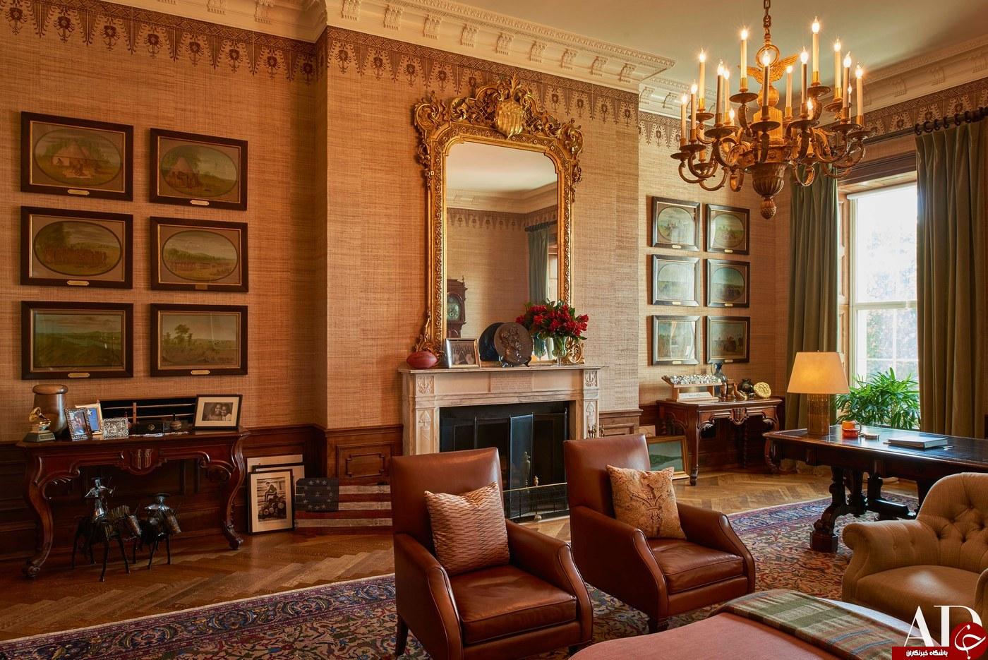 تصاویری از اقامتگاه اوباما و خانوادهاش در کاخ سفید