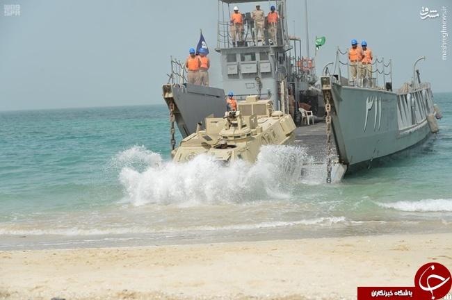 کارناوالهای نظامی عربستان در خلیج فارس به دنبال چه هستند؟