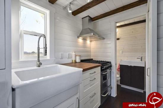کوچکترین خانه دوبلکس جهان +تصاویر