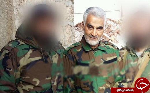 خطر شناسایی همراهان سردار سلیمانی در تصاویر تارشده +تصاویر