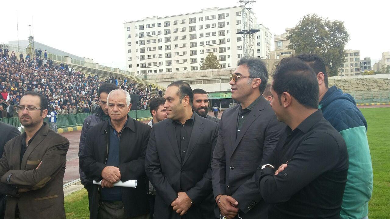 آخرین وداع با مرحوم پورحیدری به روایت تصویر