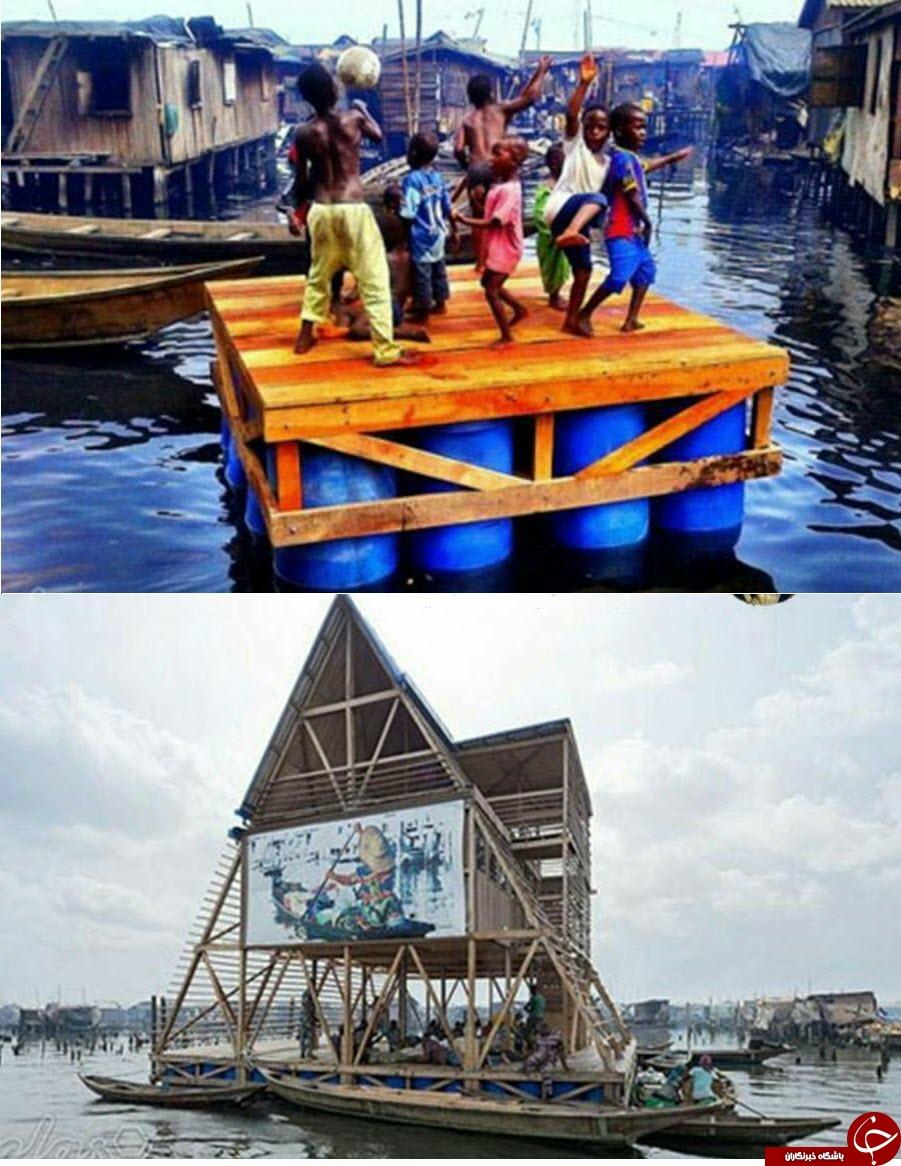 آسانسوری که نمی ایستد/ بلندترین بنای ساخته بشر/عجیب ترین مدرسه جهان در نیجریه
