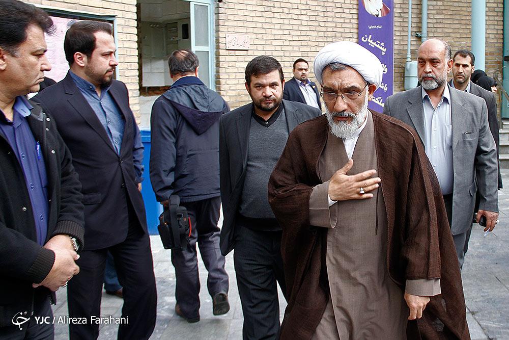 آیین تشییع پیکر حجتالاسلام شجونی برگزار شد