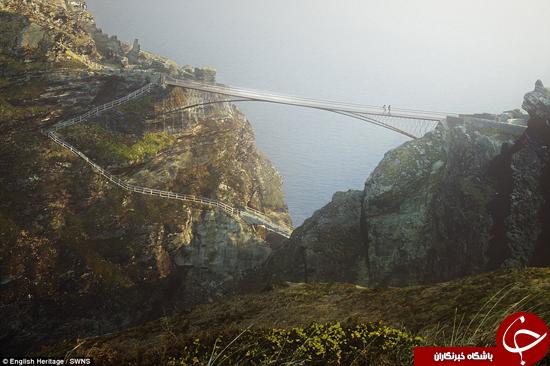 میراث شاه آرتور به پل تبدیل شد +تصاویر