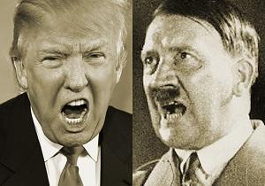 یک آلمانی: اقدامات ترامپ همانند هیتلر است/ اگر می شد مردم دکمه