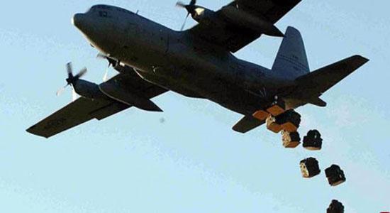 بمباران مواضع حشد الشعبی توسط ائتلاف ضد داعش/ تقلای آمریکاییها برای نجات تروریستهای تکفیری+ تصاویر