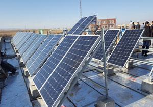 راه اندازی نخستین نیروگاه خورشیدی در قوچان