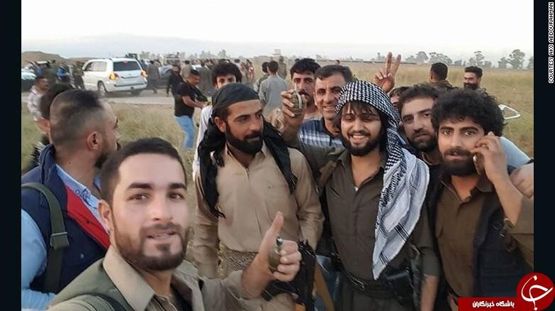 نجات جان 70 نفر از دست داعش با خودروی ضد گلوله+ تصاویر