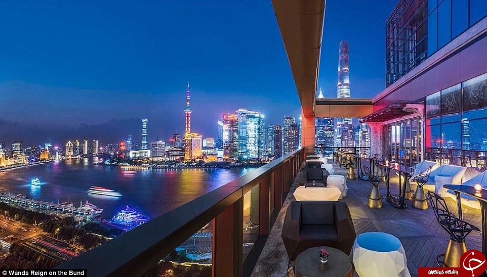 مجللترین هتل چین افتتاح شد +تصاویر