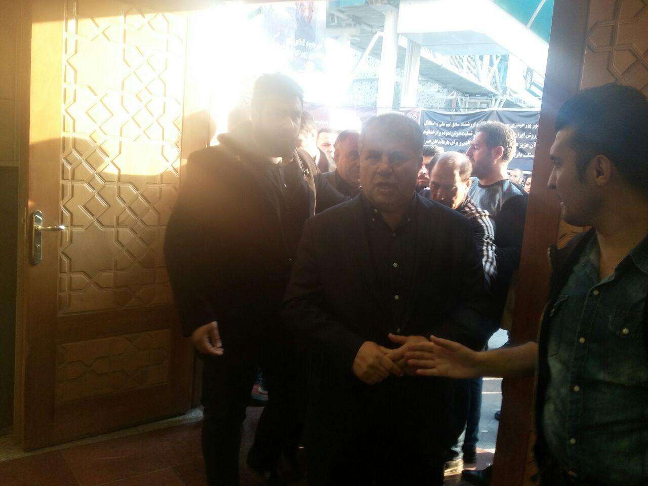 مراسم ختم زنده یاد منصور پورحیدری