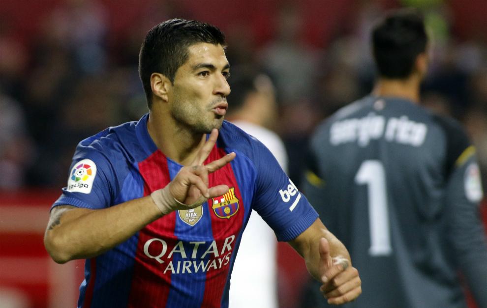 سوارز در آستانه تمدید قرارداد با بارسلونا