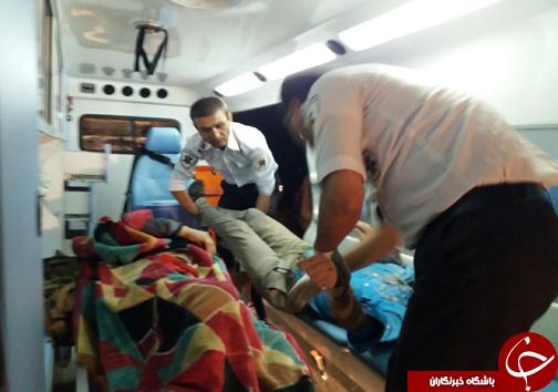 سرعت غیرمجاز علت حادثه جاده اقلید + تصاویر
