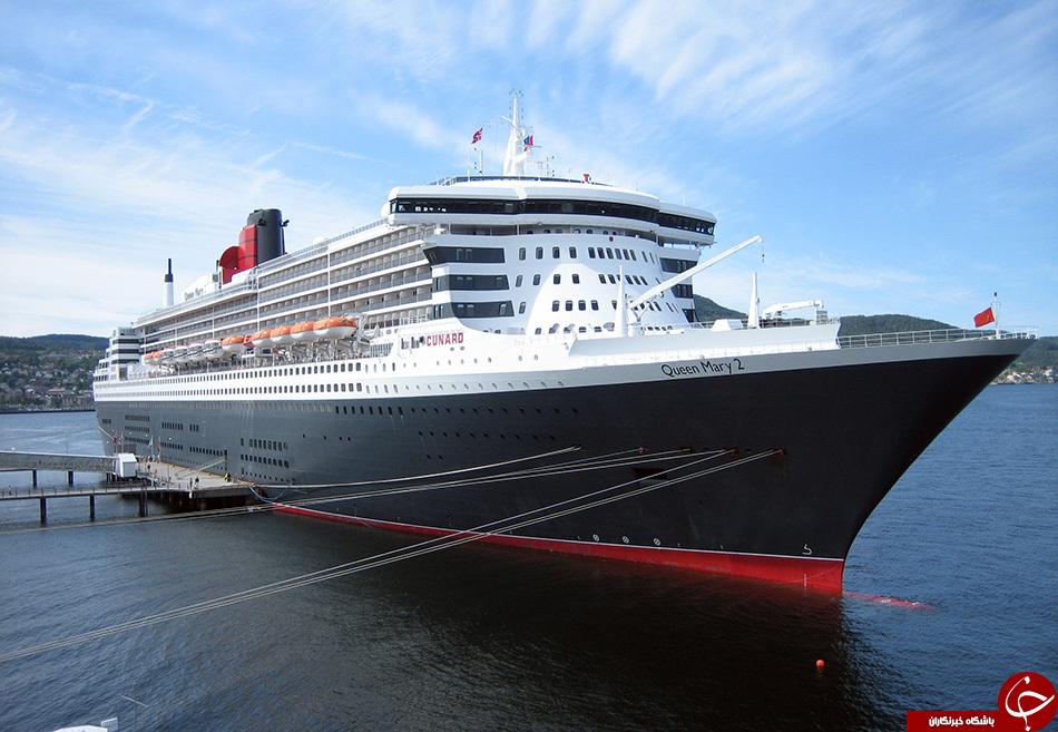 مجللترین کشتیهای جهان +تصاویر