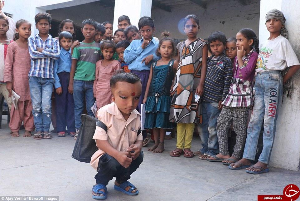 این پسر الهه بخت هندوستان  شد + تصاویر