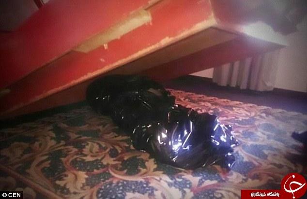 مسافران هتل یک هفته با این جنازه می خوابیدند+عکس