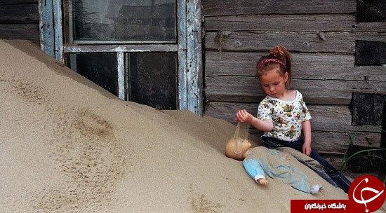 زندگی در این روستا طعم مرگ می دهد +عکس