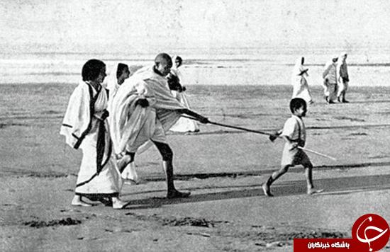 گاندی در فقر درگذشت +تصاویر