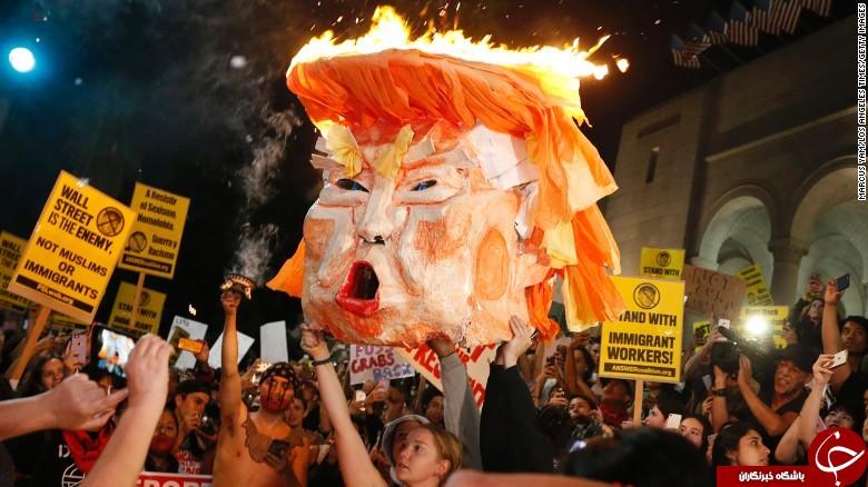 Image result for تظاهرات علیه ترامپ
