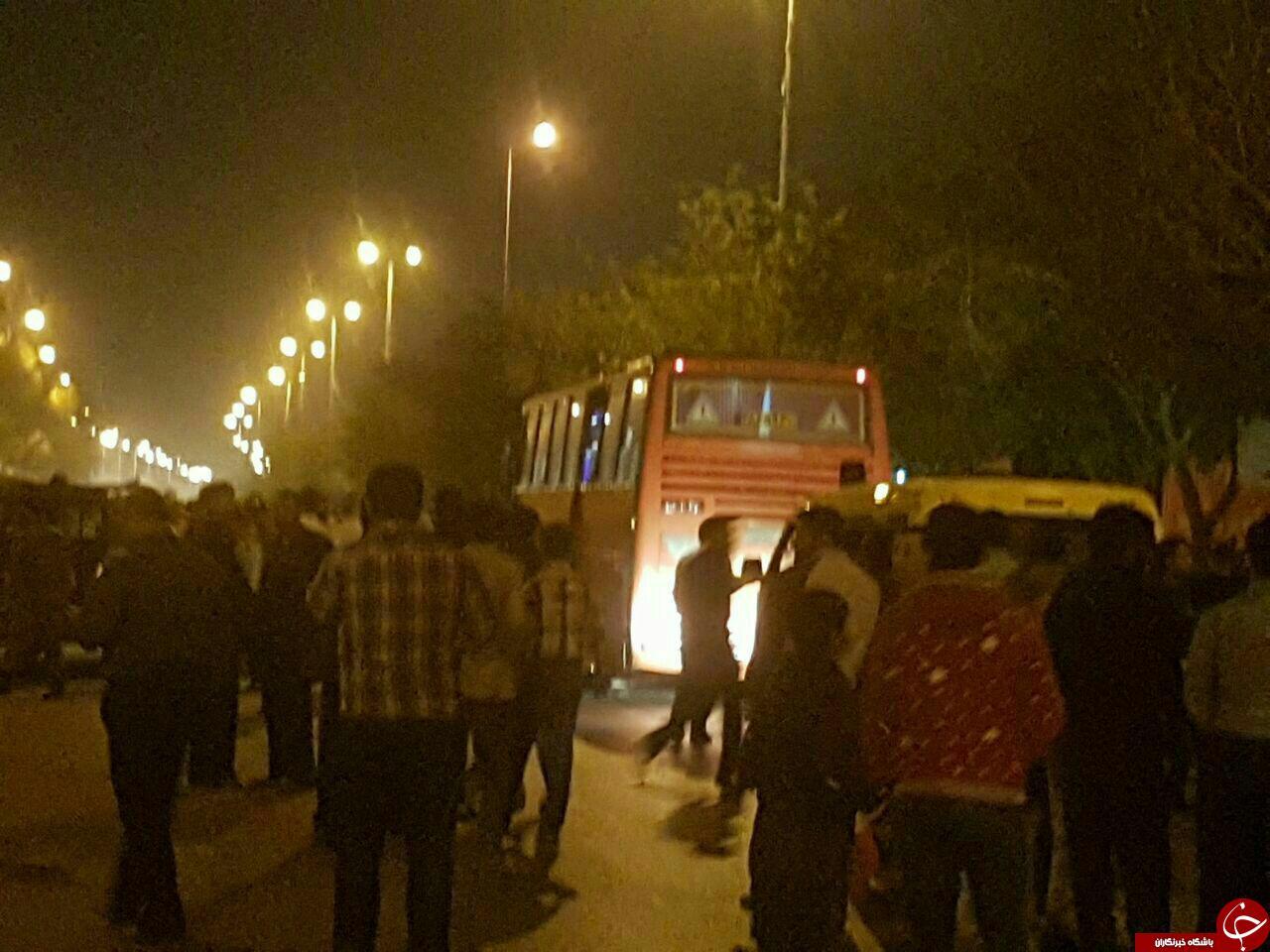 جزئیات گروگانگیری اتوبوس اهواز شوشتر 21 آبان 95