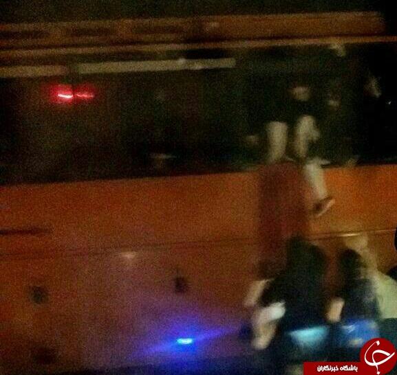 گروگانگیری در اتوبوس اهواز -شوشتر! + فیلم