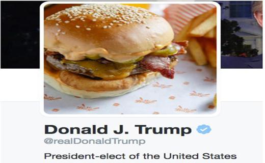 افزونه مرورگری که به جای نام ترامپ، همبرگر نمایش میدهد!+ عکس