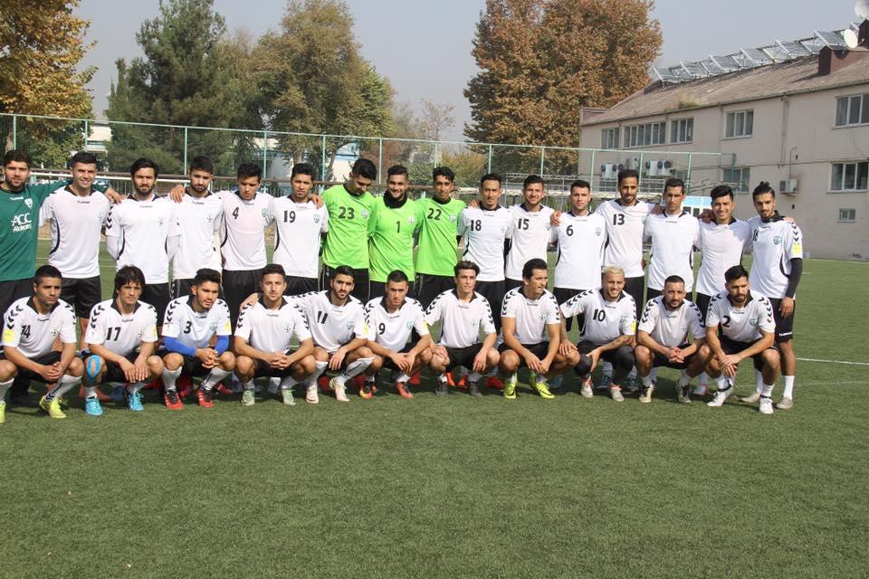 گزارش تصویری تمرین تیم ملی افغانستان در تاجیکستان