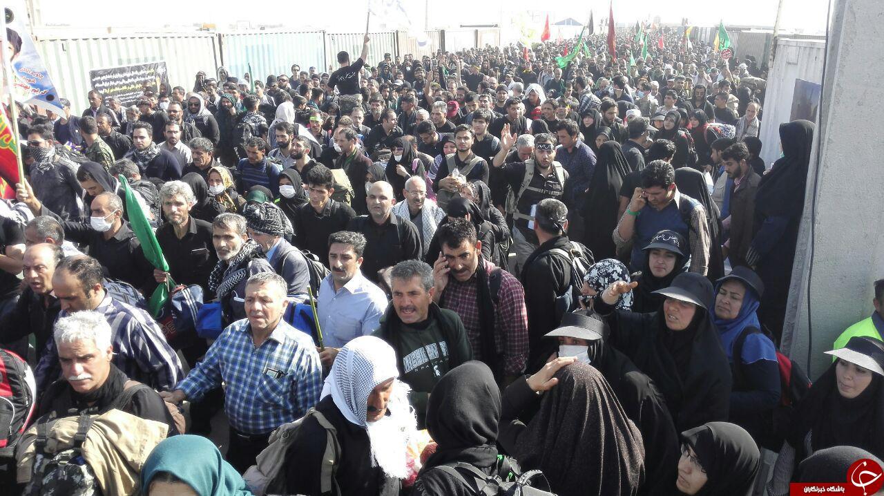 آخرین جزئیات تردد زائران از مرز مهران