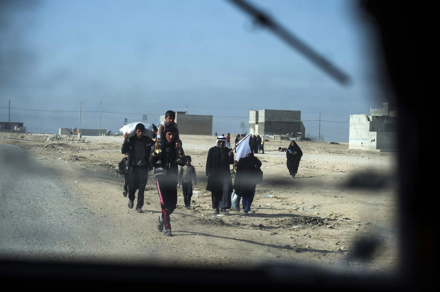 واشینگتن پست: عراق تاکنون چنین نبردی به خود ندیده است + تصاویر