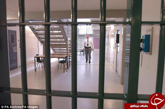 قاتل در زندان مورد حمله قرار گرفت +تصاویر