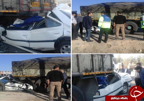 1 کشته در تصادف رانندگی محور شیراز – مرودشت