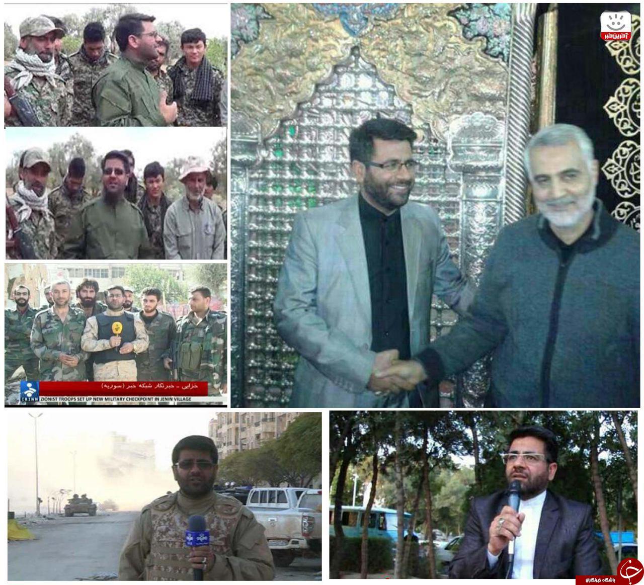 شهادت خبرنگار خبرگزاری صدا و سیما در حلب+ فیلم و تصاویر