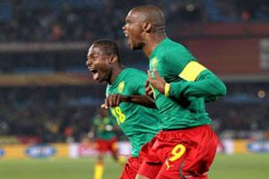 فیلم گلهای بازی کامرون 1-1 زامبیا