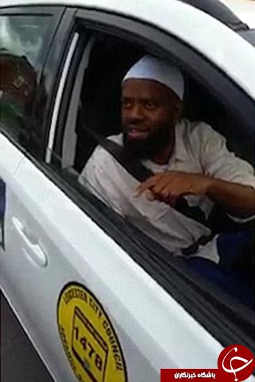 جریمه راننده مسلمان به خاطر سوار نکردن سگ +تصاویر
