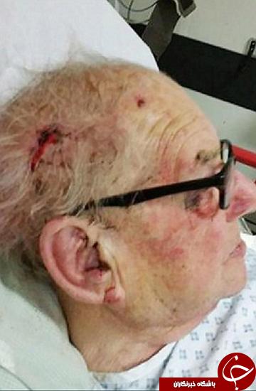 حمله به خانه این پیرمرد باعث وحشت در محله شده است +تصاویر