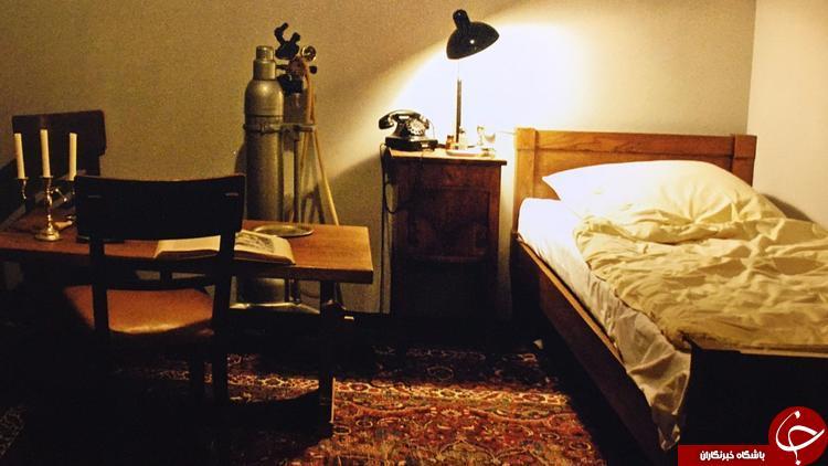 جانپناهی که آدولف هیتلر در آن جان داد+ تصاویر