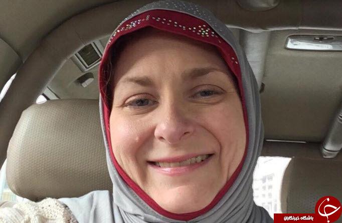 ترامپ این زن آمریکایی را مسلمان کرد +عکس