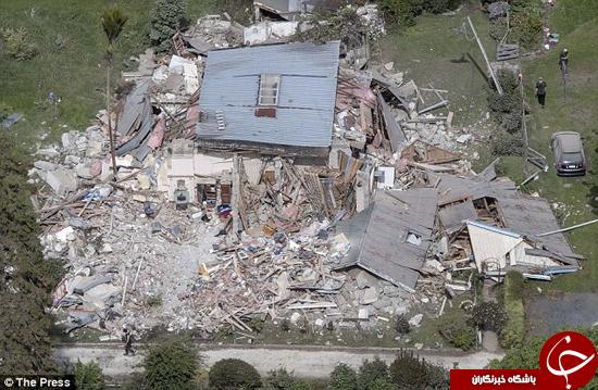 زلزله هم این پیرزن 100 ساله را نکشت +تصاویر