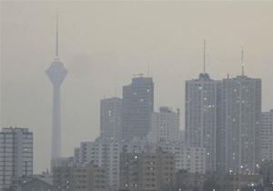استمرار هوای تهران روی خط قرمز / هوای ناسالم پاییزی پایتخت نشینان به دوازدهمین روز رسید