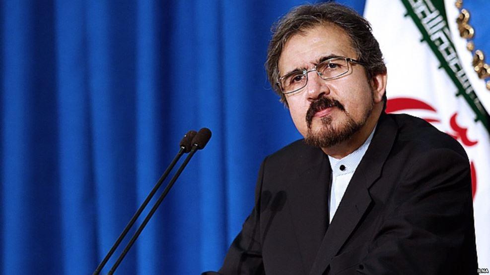 Image result for بهرام قاسمی، سخنگوی وزارت امور خارجه جمهوری اسلامی ایران