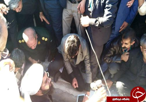 وداع همسنگران رسانه ای با پیکر شهید خبرنگار مدافع حرم + تصاویر