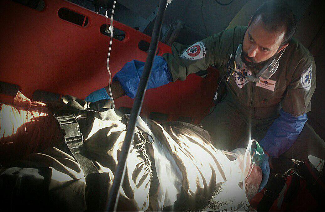 نجات راننده تریلی اهل ترکیه در اتوبان مشهد – تهران