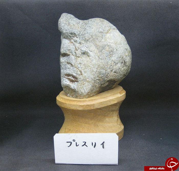 سنگ های انسان نما + تصاویر