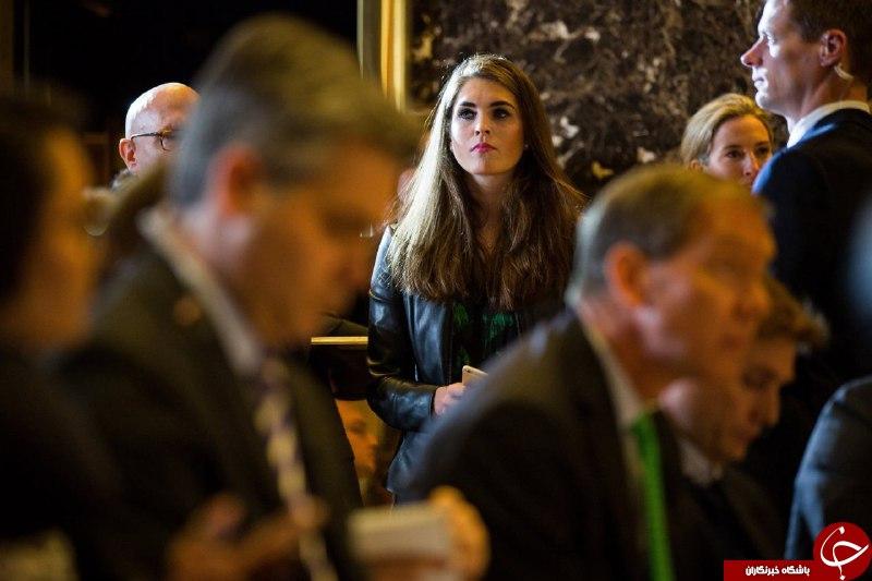 نقش یک دختر 28 ساله در رسیدن ترامپ به کاخ سفید+تصاویر
