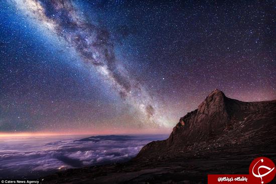 آسمان را به شکلی دیگر ببینید +تصاویر