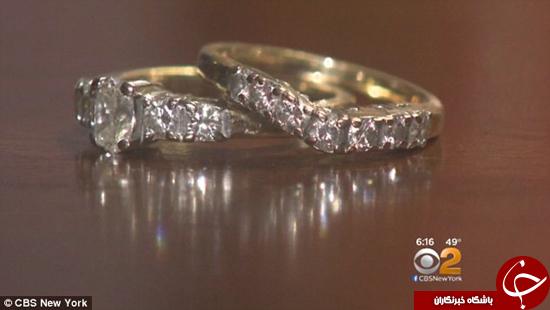 زن خوششانس حلقه ازدواج خود را در آشغالها پیدا کرد +تصاویر
