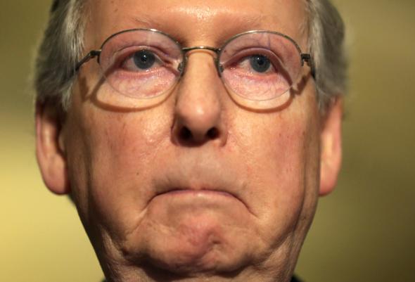 انتخاب مجدد مکانل به عنوان رهبر اکثریت جمهوریخواه سنا