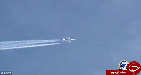پرواز عجیب هواپیما +تصاویر