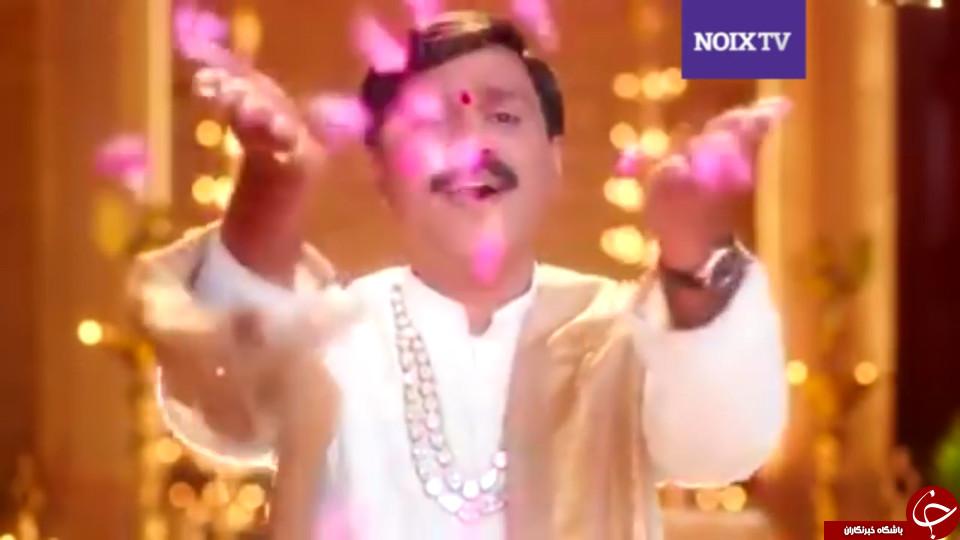 ریخت و پاش عجیب یک سیاستمدار هندی در مراسم عروسی دخترش +تصاویر
