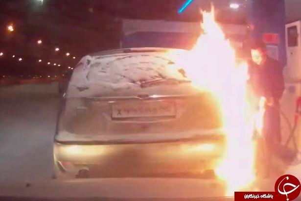 آتش سوزی با 7 میلیون بیننده + فیلم