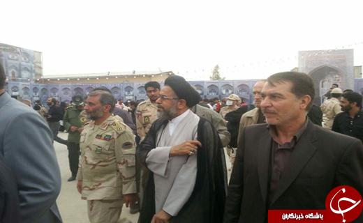 ورود وزیر اطلاعات به مرز مهران+ عکس